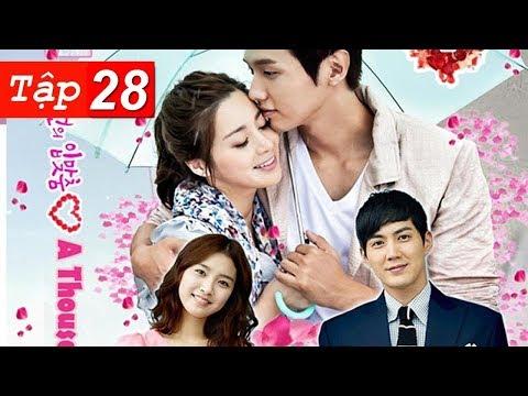 Xem Hôn Em Ngàn Lần Tập 28 HD | Phim Hàn Quốc Hay Nhất