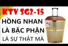 Xem Loa kéo di động KTV SG2-15- Thùng gỗ, âm thanh hay, micro nhẹ tay.