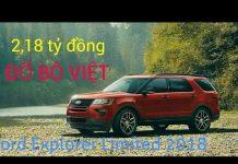 Xem Ford Explorer Limited 2018 nhập Mỹ chờ thông quan | Tin xe hơi