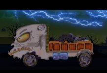 Xem đáng sợ lorry Xe tải   xe hơi Nhà để xe   Xe tải cho trẻ em   Học xe   Scary Lorry Truck Car Garage