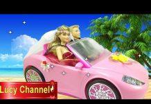 Xem Đồ chơi Lucy Búp bê Barbie & Ken review xe hơi búp bê Toy story