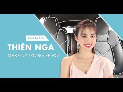 Xem THIÊN NGA MAKE-UP TRONG XE HƠI   Thử Thách Đẹp   Dep365.com