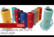 Xem Khui hộp loa di động JBL Flip 3 – www.mainguyen.vn