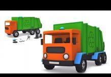 Xem xe tải gom rác | đồ chơi unboxing | những đứa trẻ video | biên soạn
