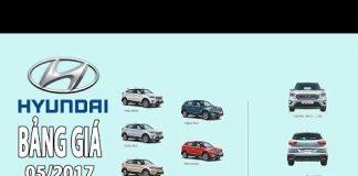 Xem Giá xe ô tô hyundai mới nhất tháng 5 2017 | Tin Xe Hơi