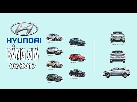Xem Giá xe ô tô hyundai mới nhất tháng 5 2017   Tin Xe Hơi