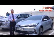 Xem Xe Toyota Altis 2018 giá bao nhiêu, ưu đãi khủng – 0937.447.889 Mr.Khiêm
