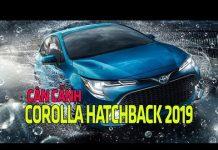 Xem Cận cảnh Toyota Corolla Hatchback 2019 vừa ra măt   Tin Xe Hơi