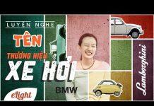 Xem Học tiếng Anh: Thương hiệu xe hơi nổi tiếng 🚗🚕🚙