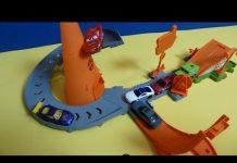 Xem Đồ Chơi Xe Hơi Cho Bé – Trạm Xe Đua Đẹp ( Bí Đỏ) Disney Pixar cars Cozy Cone Rampway ดิสนีย์รถแข่ง