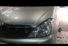 Xem phục hồi đánh bóng đèn xe hơi ô tô innova