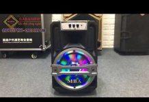 Xem Loa Karaoke Di Động MBA FR-8A – Đèn Led Sống Động