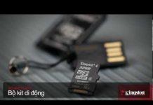 Xem Bộ Kit Di động MicroSD cho phép các thẻ microSD lắp vừa vào khe cắm SD và cổng USB