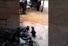 Xem máy doa lỗ di động xe múc 01217936789