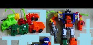 Xem Construction toy transformer Xe ô tô máy công trường đồ chơi trẻ em biến hình rô bốt Kid Studio