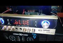 Xem Amply karaoke oto xe hơi siêu khủng điện 24V 220v lh 0964.867.866