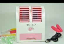 Xem Trên tay Máy lạnh mini cổng USB mát rượi – Đồ Chơi Di Động .com