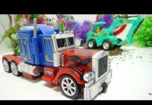 Xem Robot transformer đồ chơi đại chiến xe ô tô biến hình 664 Kid Studio
