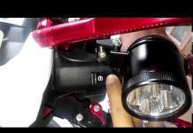 Xem Đèn L4- đèn led trợ sáng exciter150- kèn xe hơi gắn cho xe máy- passing