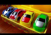 Xem Racing car toy on road, Xe ô tô đua đồ chơi trẻ em với mô hình đường đua, Kid Studio