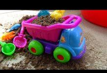 Xem Car toy play set Xe ô tô đồ chơi cát 자동차 장난감 車のおもちゃ игрушка автомобиля Kid Studio