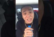 Xem ✅ Châu Việt Cường cầm chai nước suối hát live Phong cách người chơi trong xe hơi [Sao Vlog]