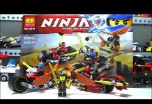Xem lap ghep do choi lego: xe oto dua ninja – Dũng Đồ Chơi