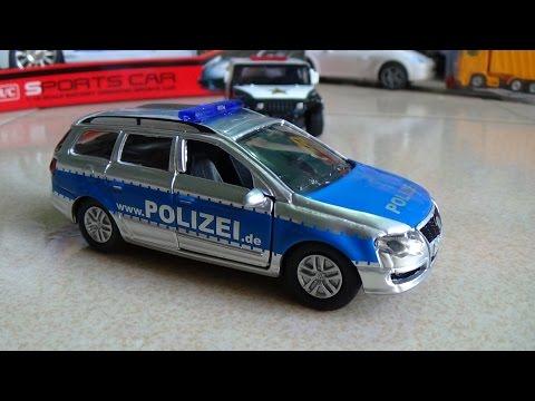 Xem Police car toy – Polizei SIKU 1401 Xe ô tô cảnh sát đồ chơi trẻ em mô hình Kid Studio