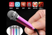 Xem Hướng dẫn karaoke trên điện thoại smartphone bằng micro karaoke mini