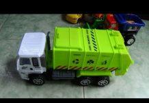 Xem Xe ô tô chở rác cho bé – máy xúc – xe bê tông, đồ chơi, mô hình by Kid Studio