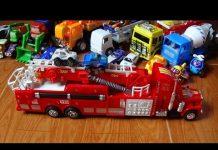 Xem Fire truck toy – Xe ô tô cứu hỏa và bài hát Old Mcdonald – Toys by Kid Studio