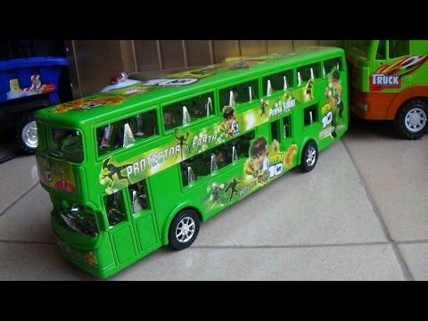 Xem Bus toy -Xe ô tô buýt – wheels on the bus by Kid Studio