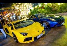 Xem Dàn siêu xe hội ngộ cùng Gia Lai Team ở Sài Gòn: Lamborghini Aventador, Ferrari California T, BMW i8