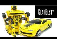 Xem Xe ô tô đồ chơi biến hình – review Transformer Car toy Simulation Model from GearBest