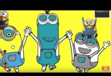 Xem Minions Banana GAME From MAGIC Kinder Surprise EGGS, Let't Play   Gertit ToysReview