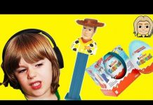 Xem Toy Story 3 Surprise Toys – Let's Open Kinder Surprise Eggs and do ToyReview