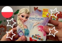 Xem Disney Frozen 20 Anna and Elsa Princess of Arendelle Kinder Surprise Eggs