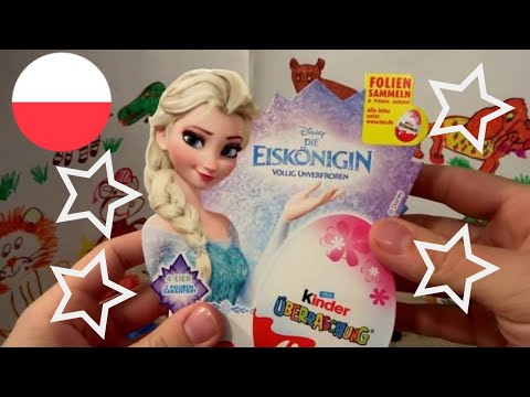 Xem Disney Frozen 20 Anna and Elsa Princess of Arendelle Kinder Surprise Eggs