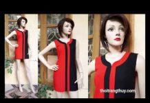 Xem Mẫu váy suông đẹp của Thời Trang Thủy thiết kế | Shift dress