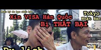 Du Lịch Nhật Bản [Tập 4] Xin Visa sang Hàn Quốc bị THẤT BẠI 😭😭😭
