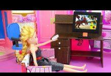Xem 💛 Đồ chơi handmade – Làm chiếc tivi cho Chibi xem 💛 A842C 💛 Nữ hoàng búp bê 💛