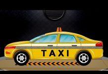 Xem Xe taxi đồ chơi | xe hơi Nhà để xe | Xe Cho trẻ sơ sinh | Car Garage | Toy Vehicles For Kids | Taxi