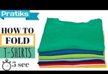 Xem How to Fold a T-Shirt In 5 Seconds