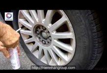 Xem Demo phục hồi lốp xe hơi bị thủng 500ml – NRG Ý