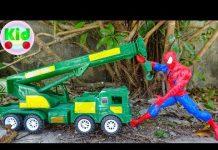 Xem 🚙 Người nhện và các loại xe ô tô 🚙 đồ chơi trẻ em A833B Mr Dung 🚙