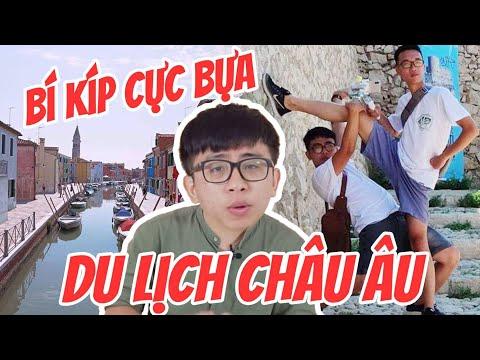"""Vlog Tân 1 Cu : Bí kíp """"cực bựa"""" khi du lịch Châu Âu !"""