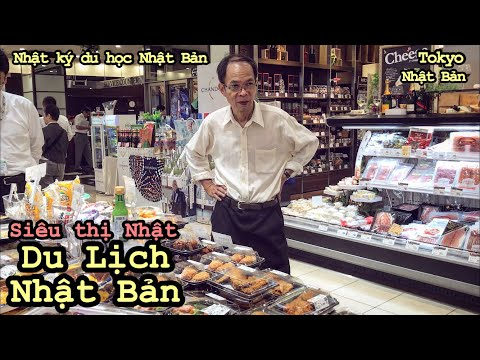Du Lịch Nhật Bản [Tập 6] Bữa trưa tại siêu thị Tokyo