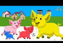 Xem Heo Đất,Con Lợn Éc REMIX ♥ Nhạc Thiếu Nhi Remix Hay Nhất ♥ LK Thiếu Nhi Vui Nhộn Cho Bé Ăn Ngon