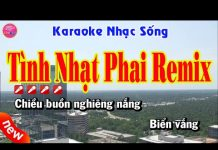Xem Karaoke   Tình Nhạt Phai Remix   Nhạc sống chất lượng cao