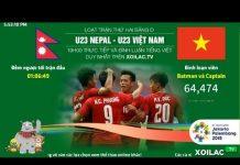 Xem 🔴 TRỰC TIẾP★ U23 Việt Nam vs U23 Nepal ★ Xem Bóng Đá Trực Tiếp Chất Lượng HD Bình Luận Tiếng Việt
